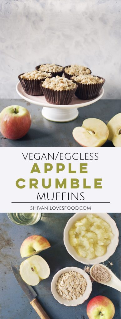Apple Crumble Muffins | Shivani Loves Food