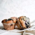 Vegan Bakery-Style Blueberry Muffins