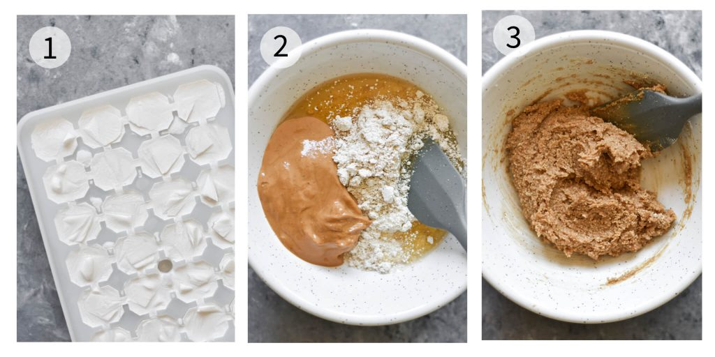 how to make vegan cookie dough ice cream steps 1-3