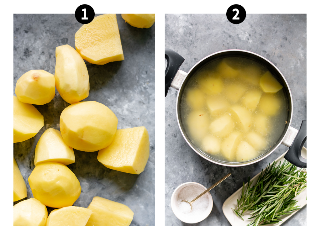 how to make roast potatoes steps 1-2